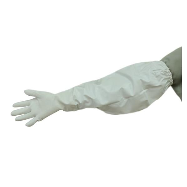 まとめ買い!10セット スーパーソフトRロング LLサイズ 5双 防水手袋 作業用グローブ ポリ塩化ビニール手袋