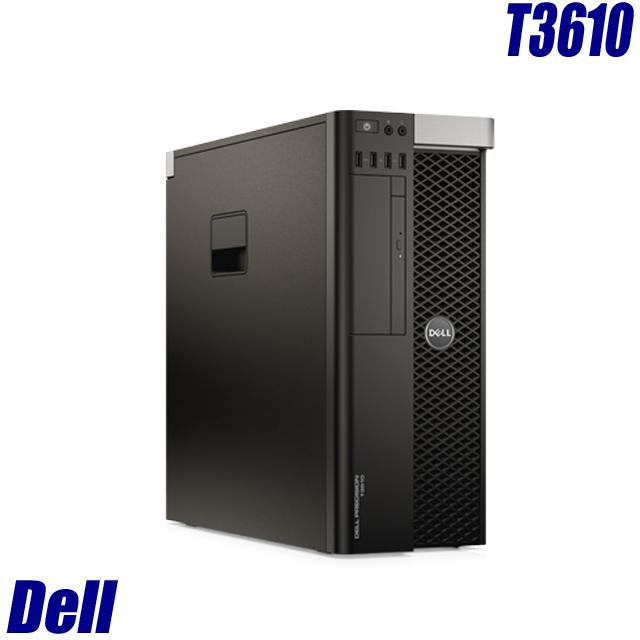 Dell Precision T3610 【中古】 Quadro-K600 Xeon(3.00GHz)搭載 中古デスクトップパソコン メモリ4GB HDD500GB Windows10-Pro DVDスーパーマルチ内蔵 WPS Officeインストール済み 中古パソコン タワー型ワークステーション