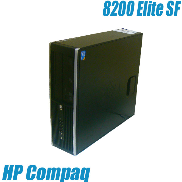 HP Compaq 8200 Elite SF【中古】 Windows10(MAR) 中古パソコン コアi5-3.1GHz メモリ8GB HDD250GB DVDスーパーマルチ内蔵 WPS Office付き 中古デスクトップパソコン