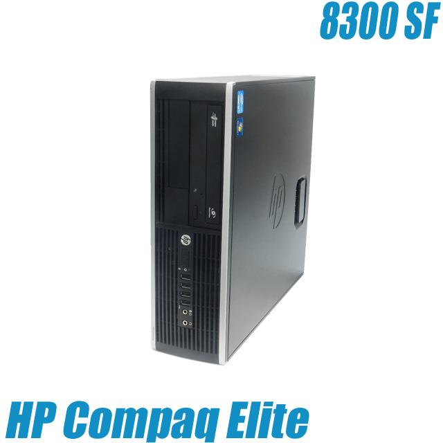 HP Compaq Elite 8300 SF【中古】【推】 Windows10(MAR) コアi5-3470(3.2GHz) メモリ8GB HDD500GB DVDスーパーマルチ内蔵 WPS Office付き 中古デスクトップパソコン 中古パソコン 安心3ヶ月保証