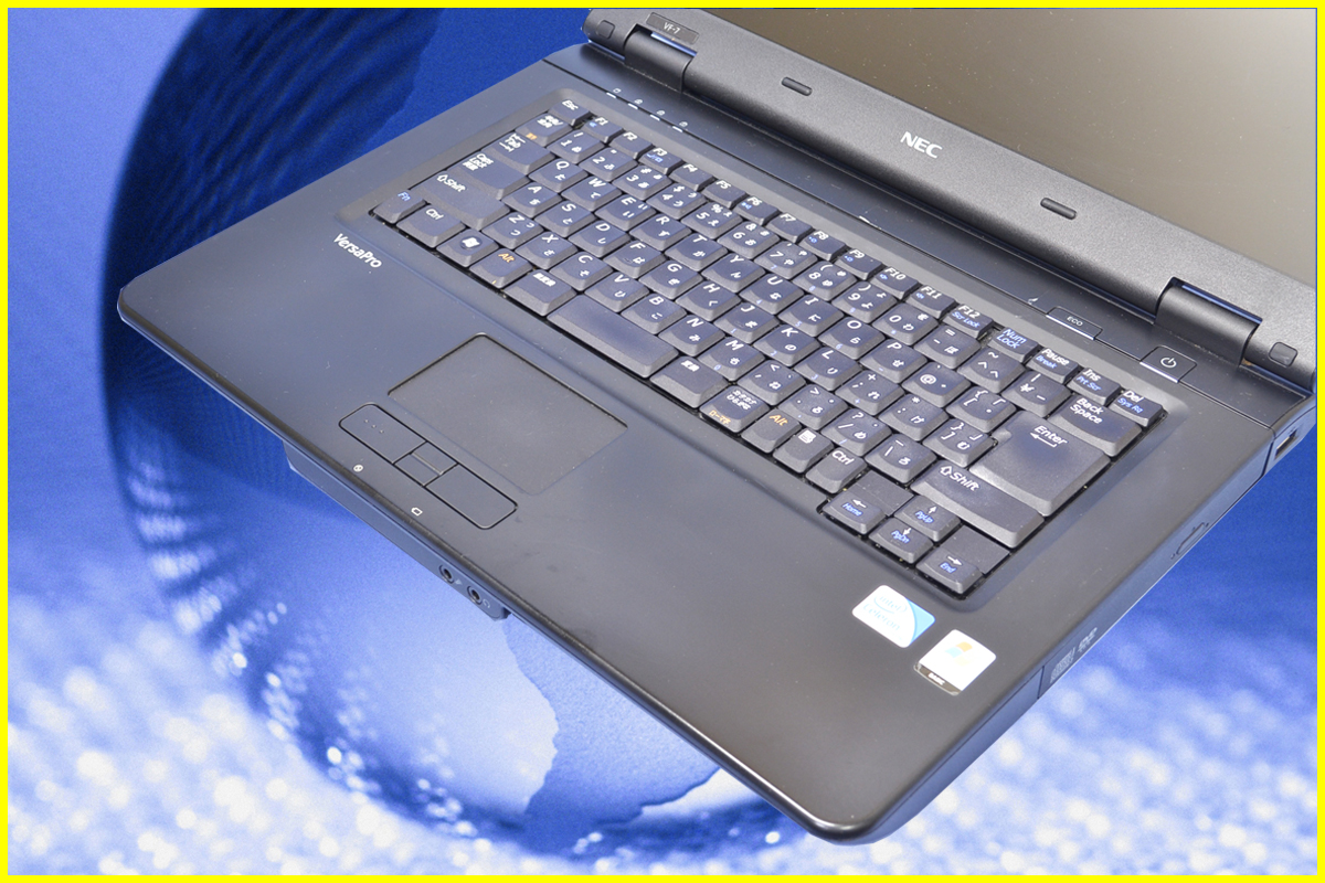 중고 PC Windows7 NEC VarsaPro VersaPro VF-7 VY22M/VF-7 메모리 2 GB&HDD:500 GB탑재!Windows7-HomePremium 셋업이 끝난 상태