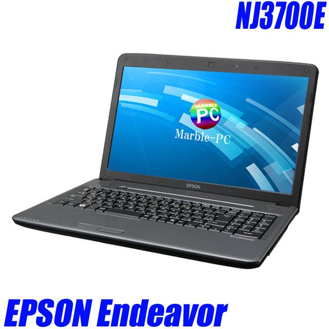 EPSON Endeavor NJ3700E 【中古】【推】 Windows10(MAR) メモリ4GB HDD250GB 15.6インチ液晶 中古ノートパソコン コアi5(2.60GHz)搭載 DVD-ROM 無線LAN付き WPS Officeインストール済み 中古パソコン【訳あり】