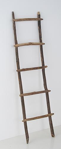 【送料無料】ラダー Lサイズ ナチュラル雑貨 はしご型 インテリア収納