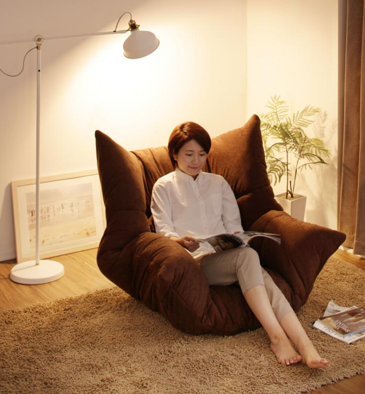 【送料無料】洗える マルチリクライニング コンパクト フロア ソファ 「fondue」フォンデュ ハイタイプ 座椅子 洋風 おしゃれ ローソファー