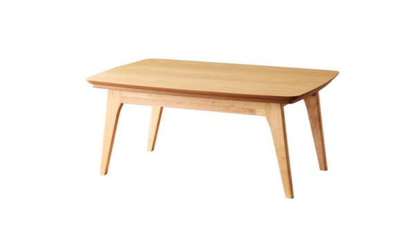 こたつテーブル 【Trukko】トルッコ/ 長方形 (90×60)天然木オーク材 北欧デザイン (布団別売)