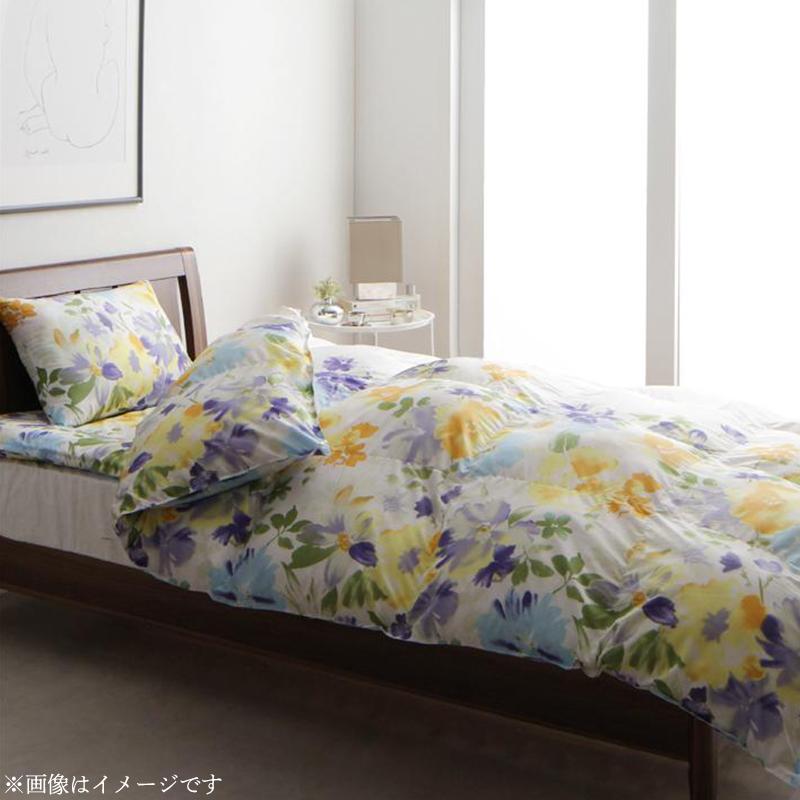 【送料無料】掛布団 単品 シングル 「Fiona」フィオーナ 雲のようにふんわり軽くて羽毛よりも暖かい洗える寝具シリーズ 水彩画風エレガント フラワーデザイン