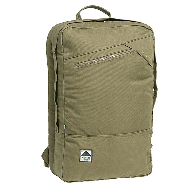 KLATTERMUSEN クレッタルムーセン 40300U Rimturs Backpack 18L リムトゥス バックパック リュック デイパック 撥水コットンナイロン レインウェア カラーDarkKhaki/カーキ メンズ