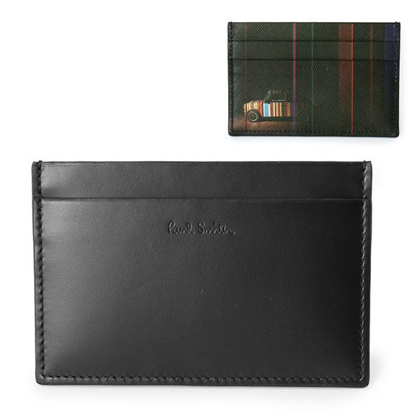 Paul Smith ポールスミス ATXC 4768 W718P レザー カードケース 名刺入れ カラー79/ブラック他 メンズ