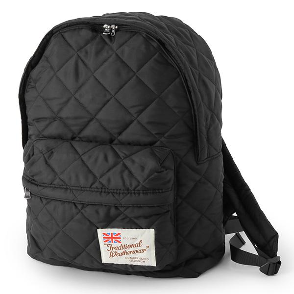 Traditional Weatherwear トラディショナルウェザーウェア CH1266 0022 DAYPACK LARGE キルティング ナイロン バックパック リュック デイパック カラーPQ01/BLACK レディース