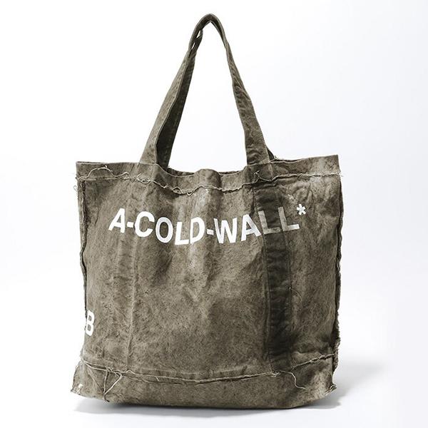 A-COLD-WALL* アコールドウォール CT-1 CANVAS TOTE BAG キャンバス トートバッグ ショッピングバッグ カラーSLATE メンズ
