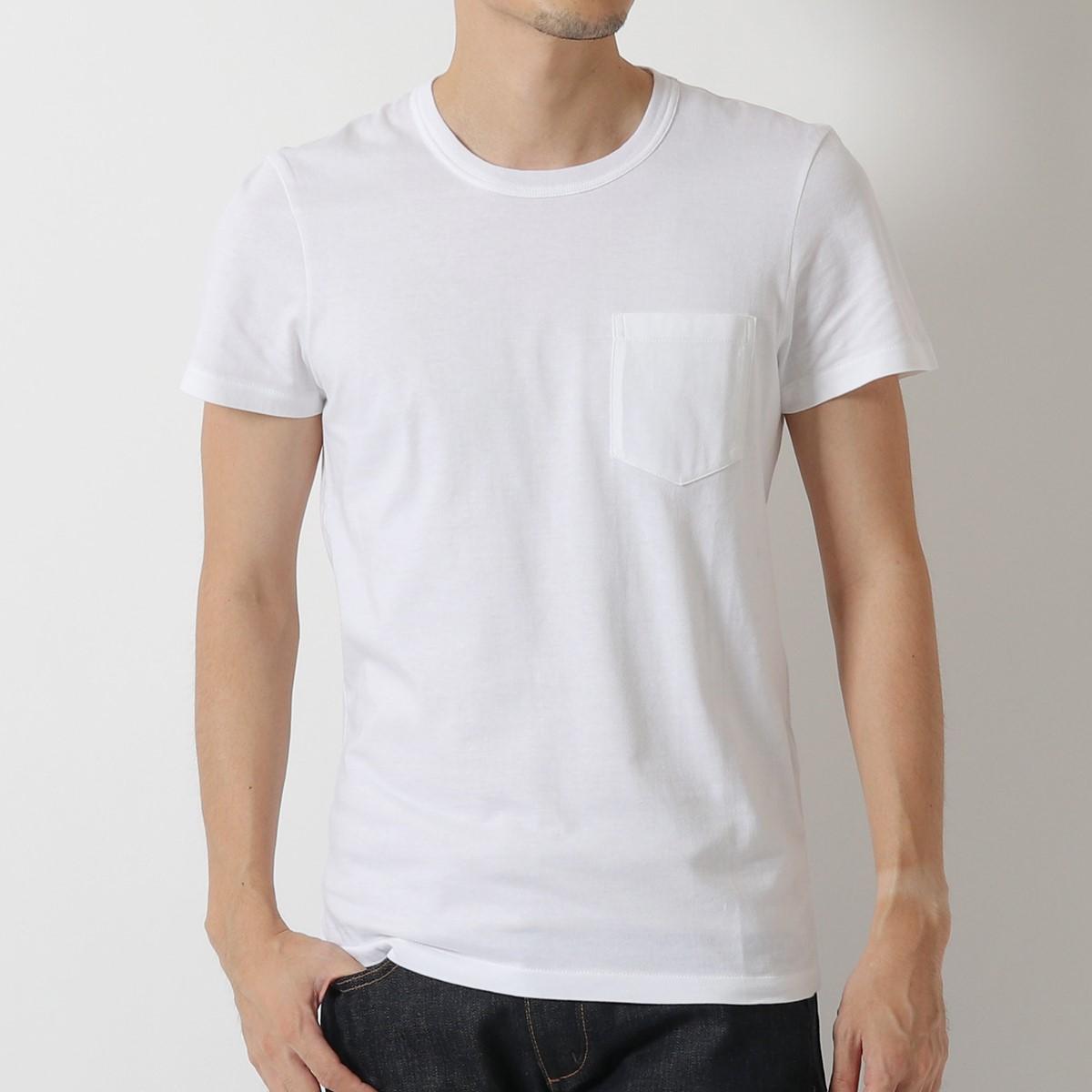 TOM FORD トムフォード BP402 TFJ902 クルーネック 半袖 Tシャツ カットソー ポケT カラーN00 メンズ