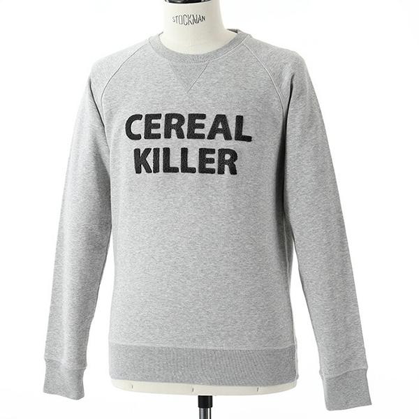 Trendy & Rare トレンディ&レア CEREAL KILLER 長袖 スウェット トレーナー スエット カラーHEATHERGREY メンズ