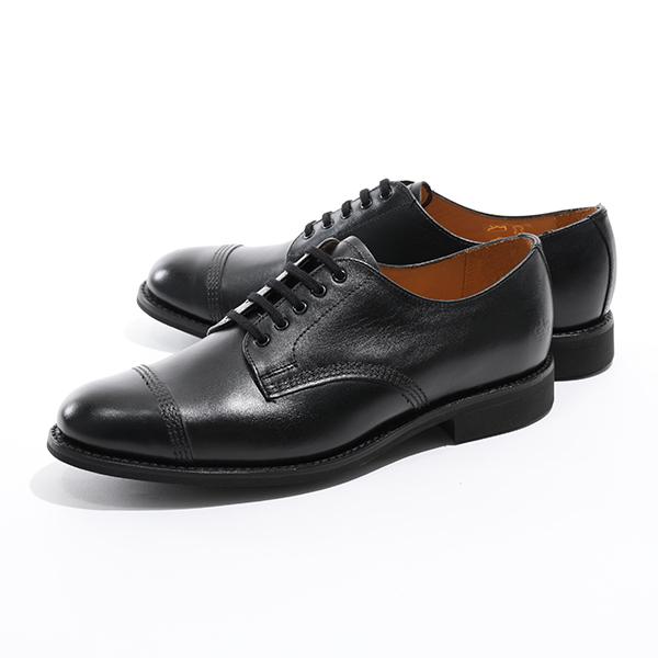 Sanders サンダース 1128BC Military Derby Shoe Calf ドレスシューズ 革靴 オックスフォード ストレートチップ カラーBlack メンズ