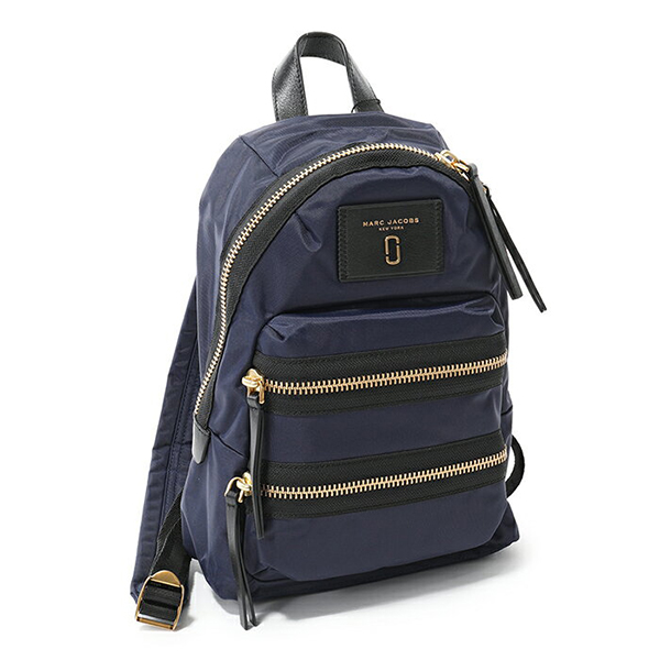 MARC JACOBS マークジェイコブス M0012702 1SZ Nylon Biker Mini Backpack ナイロン バックパック リュック デイパック バッグ カラー415/MIDNIGHTBLUE