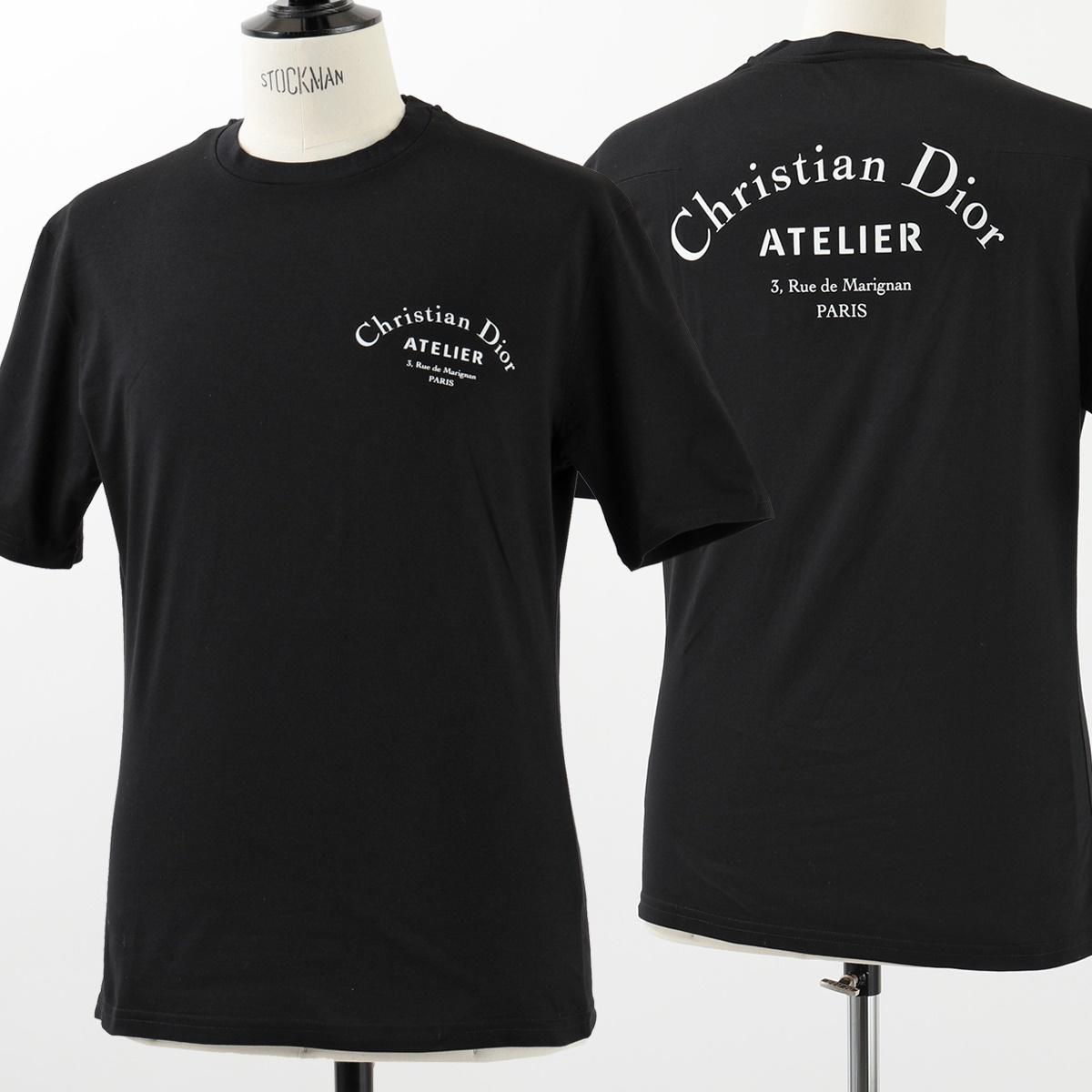 new product 467a7 19050 Dior Homme ディオールオム 863J621I2712 TSHIRT MC クルーネック 半袖 Tシャツ カットソー カラー980/Noir  メンズ|インポートセレクト musee