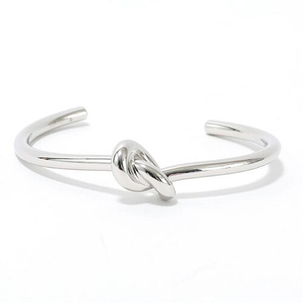 CELINE セリーヌ 46D466BRA.36SI Knot Extra Thin Bracelet ノット エクストラシンブレスレット ブラス バングル カラーSilver レディース