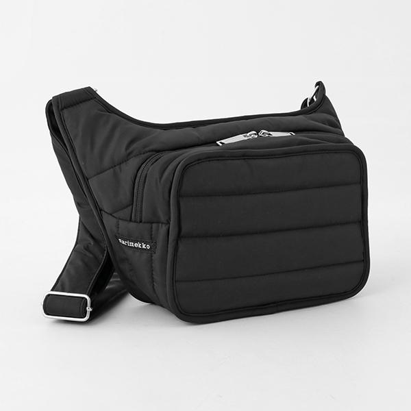 marimekko マリメッコ PADDED BAGS 045494 BILLIE Olkalaukku 中綿キルティング ナイロン ショルダーバッグ ポシェット カラー009/ブラック
