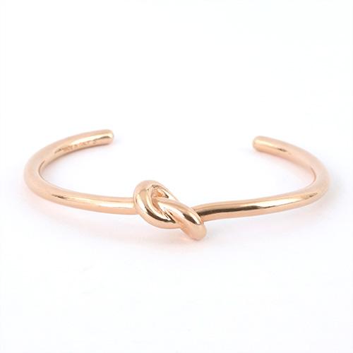CELINE セリーヌ 46D46 6BRA 35RG S Knot Extra Thin Bracelet ノット エクストラシンブレスレット ブラス ブレス バングル カラーRosegold レディース