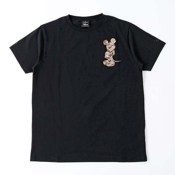 MARCELO BURLON マルセロバーロン CMAA018S18001194 CAMOU T-SHIRT コラボ クルーネック 半袖 Tシャツ カットソー カラー1088/BLACK メンズ