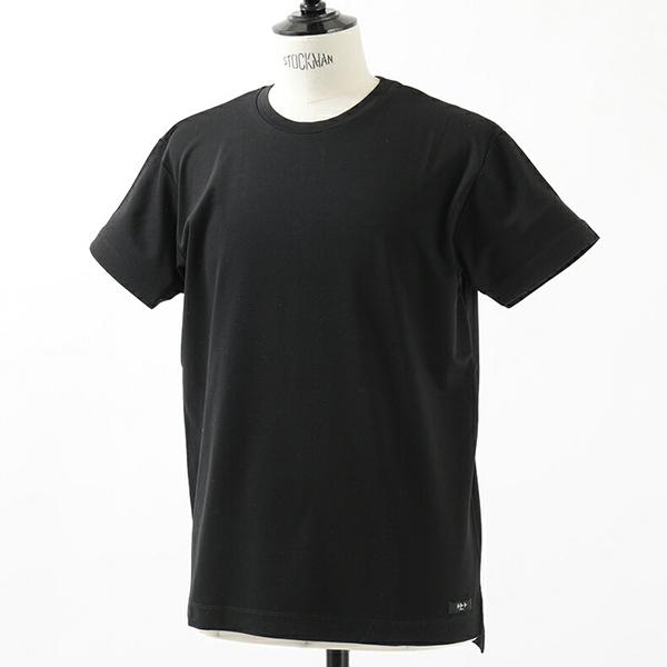 TATRAS タトラス MTA18S8049 NARDO コットン 丸首 クルーネック 半袖カットソー Tシャツ カラーBLACK メンズ