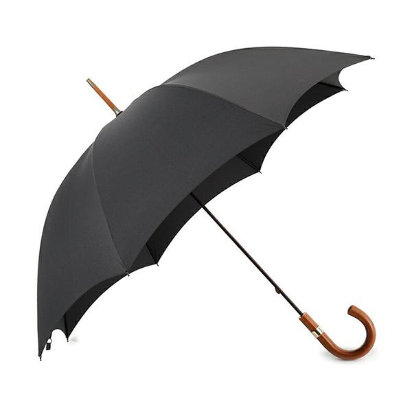 FOX UMBRELLAS フォックスアンブレラ GT30 MARACCA マラッカ 籐 ハンドル 雨傘 パラソル 雨具 カラー099/BLACK メンズ