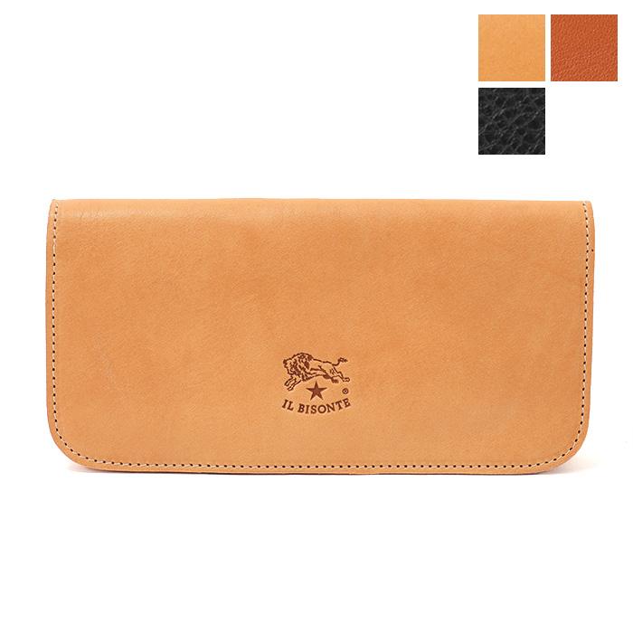 ILBISONTE イルビゾンテ C0985 P VACCHETTA レザー 二つ折り長財布 カラー3色 メンズ