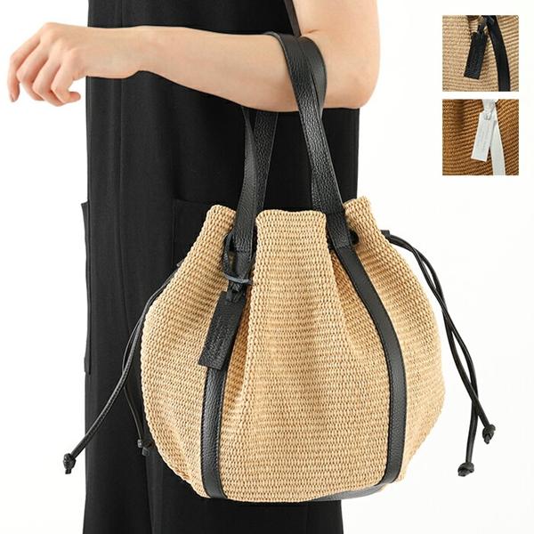 MARCO MASI マルコマージ 2910 イタリア製 カゴ かごバッグ 巾着バッグ ハンドバッグ トートバッグ カラー2色 レディース