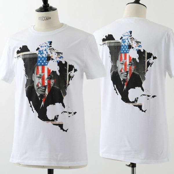 Neil Barrett ニールバレット PBJT217D E532S クルーネック 半袖Tシャツ カットソー カラー03/ホワイト他 メンズ