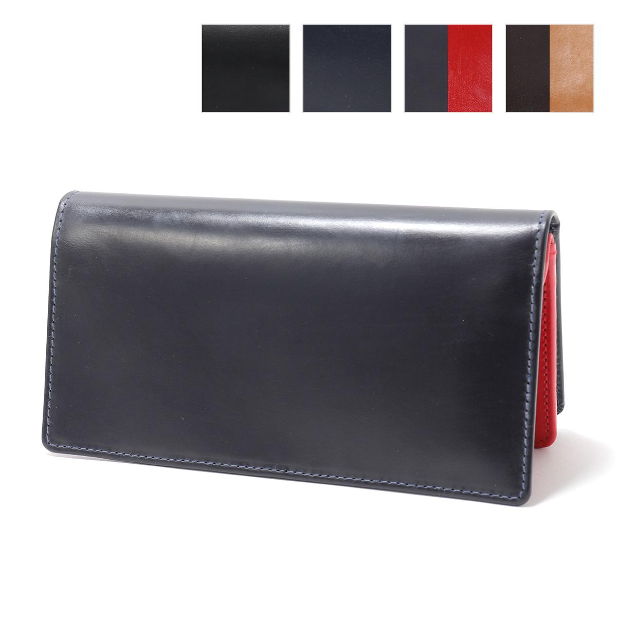 WhitehouseCox ホワイトハウスコックス S8819 BRIDLE ブライドルレザー 二つ折り長財布 カラー4色 メンズ