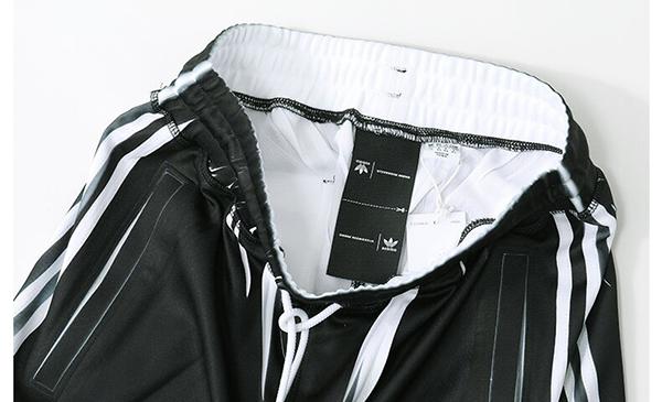 adidas originals by Alexander Wang (Adidas original Alexander one) DM9861 Bermuda Shorts half underwear jersey short black white size: XS