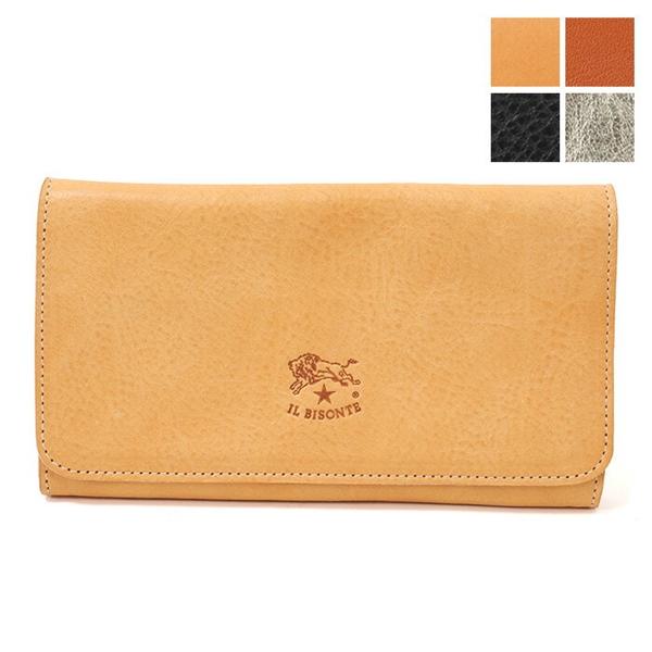 ILBISONTE イルビゾンテ C0501 MP レザー 二つ折り長財布 カラー4色 レディース