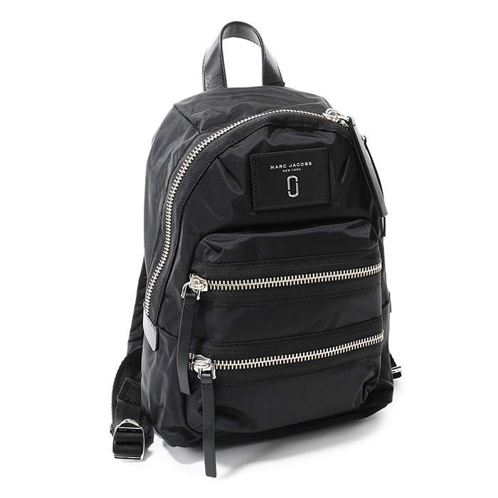 MARC JACOBS マークジェイコブス M0012702 1SZ Nylon Biker Mini Backpack ナイロン バックパック リュック デイパック バッグ カラー001/BLACK