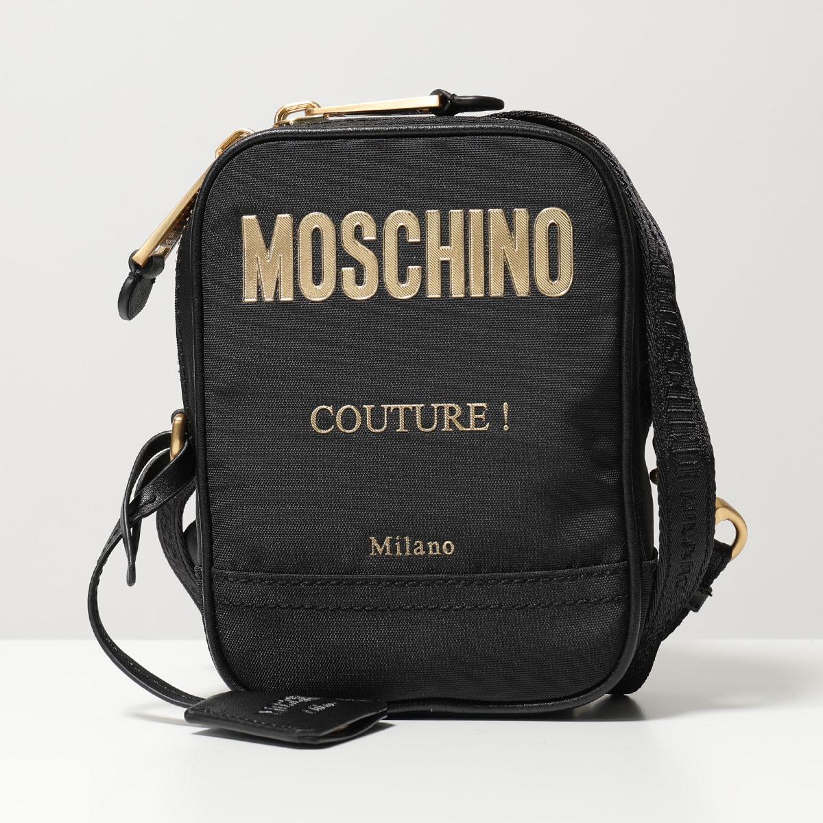 MOSCHINO COUTURE! モスキーノ クチュール 7421 8205 1555 ショルダーバッグ ポシェット サコッシュ 鞄 レディース