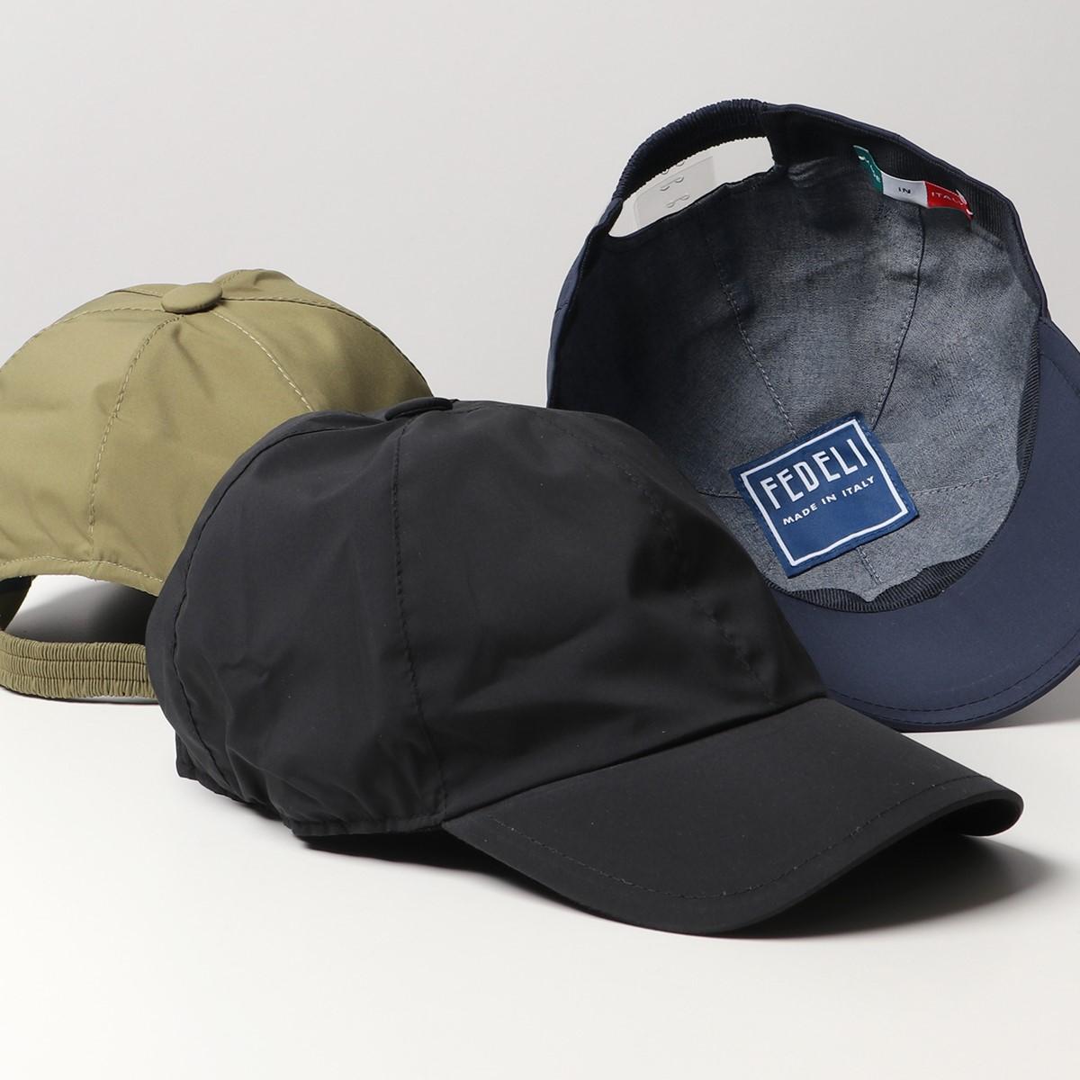 グッドプライス 2021年春夏新作 FEDELI フェデリ 4UE00802 CAP 受注生産品 LAND AIRSTOP 撥水 本日限定 2021ss エアストップ メンズ 帽子 カラー3色 ベースボールキャップ