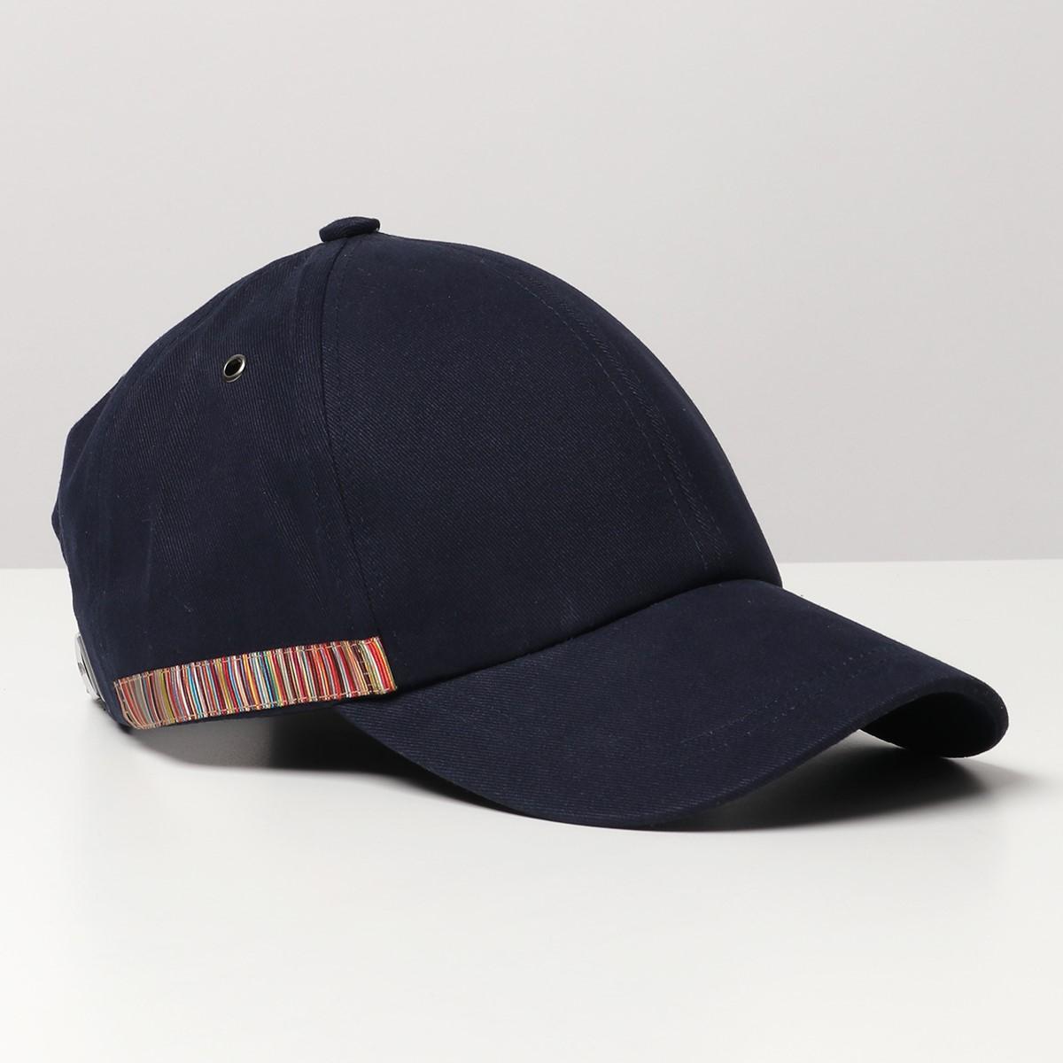 時間指定不可 2021年秋冬新作 Paul Smith ポールスミス M1A 385F EH575 47 百貨店 baseball マルチストライプ ベースキャップ メンズ 帽子 trim