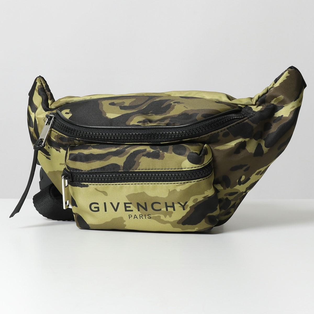 GIVENCHY ジバンシィ BK5037K0TU 960 LIGHT 3 BUM BAG カモフラ柄 ボディバッグ ベルトバッグ ウエストポーチ 鞄 メンズ
