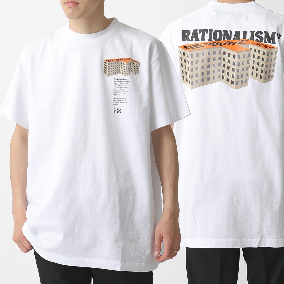 OFF-WHITE オフホワイト VIRGIL ABLOH OMAA038 R20 185007 半袖Tシャツ カットソー オーバーサイズ 0188 メンズ