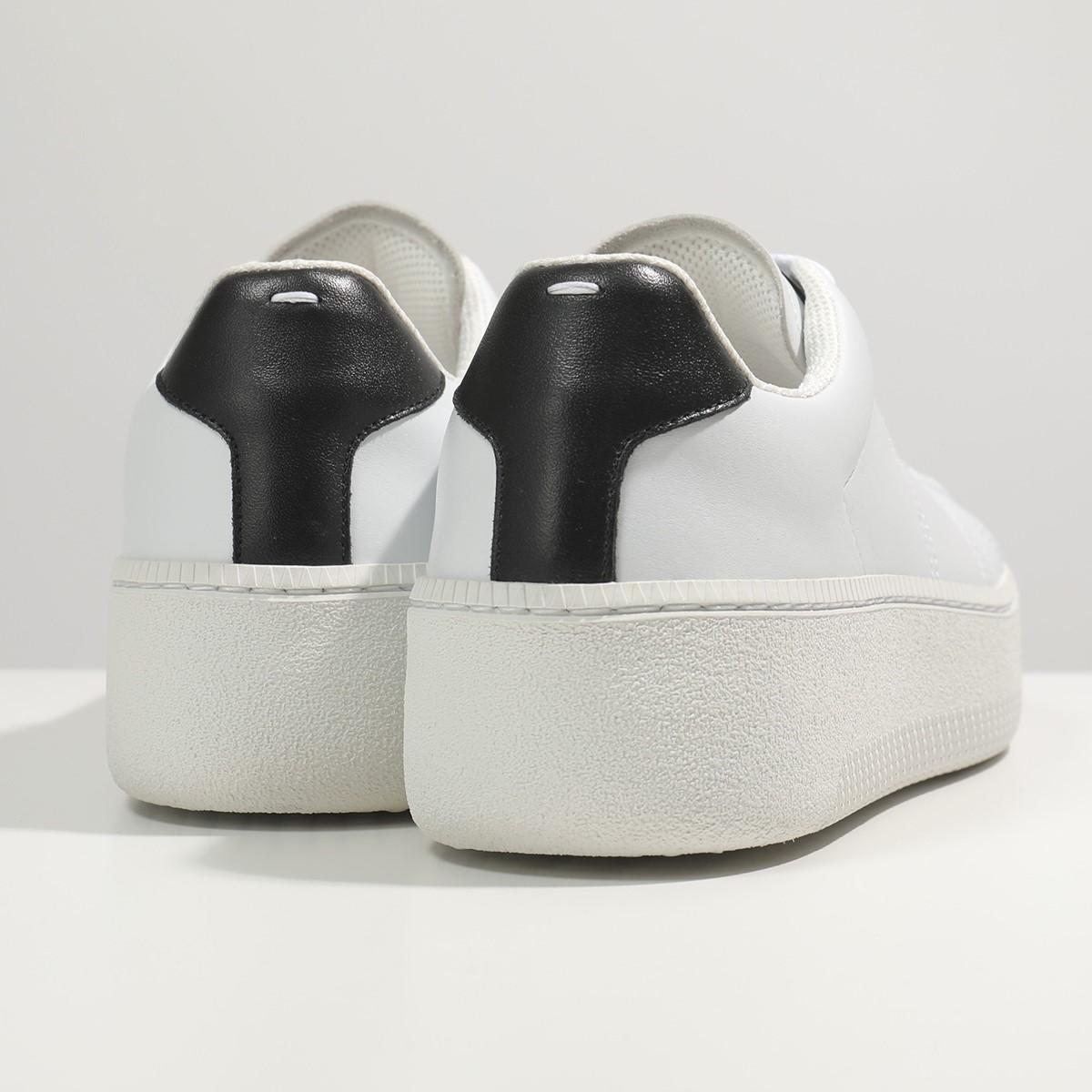 1 000円OFFクーポン対象 21日10時~22日9時59まで MAISON MARGIELA メゾンマルジェラ 22 S57WS0288 P2589 レザー ローカット スニーカー シューズ H7361 靴 メンズrCxeBodW