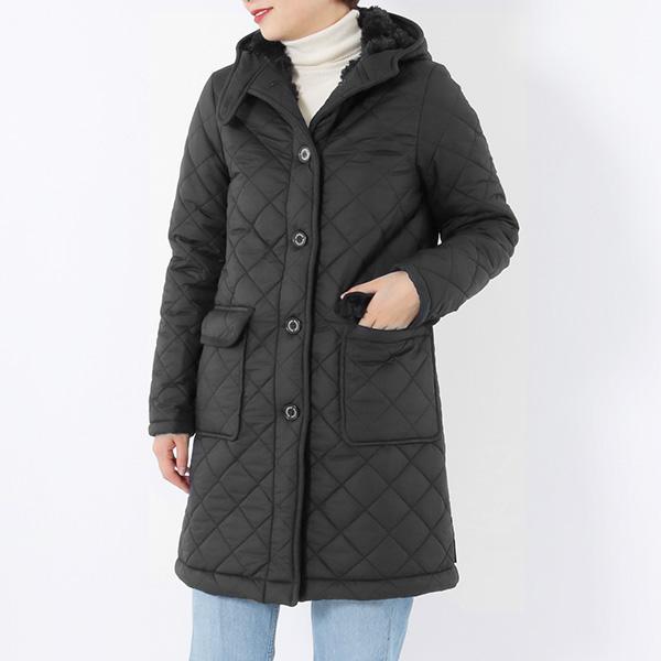 Traditional Weatherwear トラディショナルウェザーウェア GRANGE グランジ QO0934-QOP7182 QA05 ナイロン キルティング ジャケット コート BKBK レディース