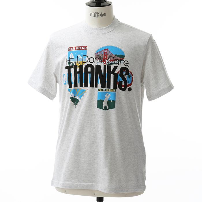 VETEMENTS ヴェトモン UAH19TR301 Tourist T-shirt 半袖 Tシャツ カラーGREY メンズ