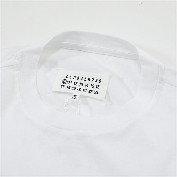 エントリーでポイント最大16倍!5/15限定★MAISON MARGIELA メゾンマルジェラ S30GC0650 半袖 Tシャツ カラー100/ホワイト メンズ