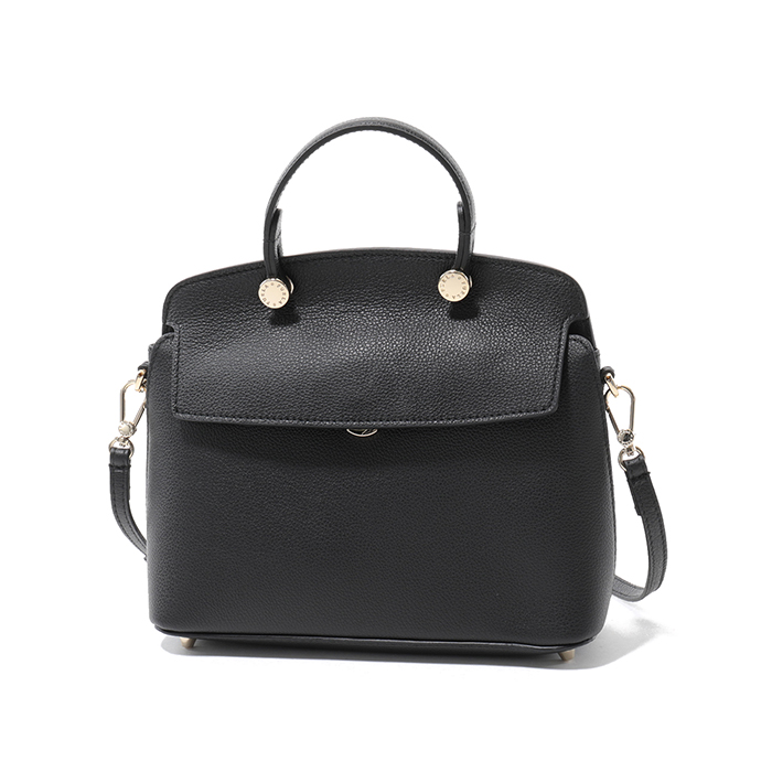 Furla フルラ 942208 BNI4 OAS MY PIPER S TOP HANDLE ハンドバッグ ONYX