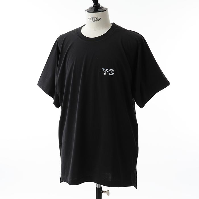 Y-3 ワイスリー DP0611 M SIGNTR SS TEE コラボ 半袖 Tシャツ オーバーサイズ ビッグシルエット カラーBLACK メンズ