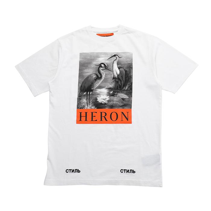 HERON PRESTON ヘロン プレストン HMAA001F186320150188 半袖Tシャツ 0188
