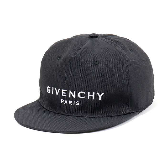 GIVENCHY ジバンシィ BPZ001K0CE CAP FLAT PEAK ロゴキャップ 帽子 001/BLACK