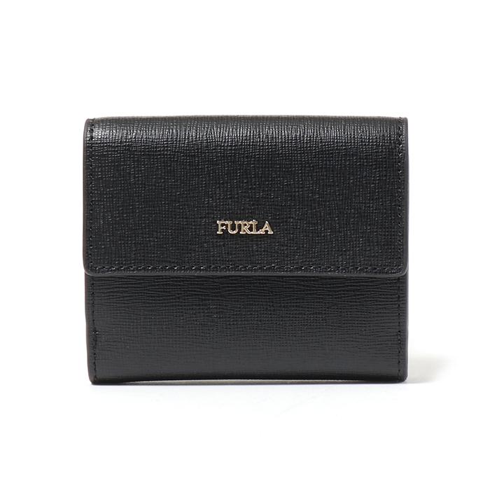Furla フルラ 963513 BABYLON S BIFOLD PZ10 B30 二つ折りミニ財布 ONYX