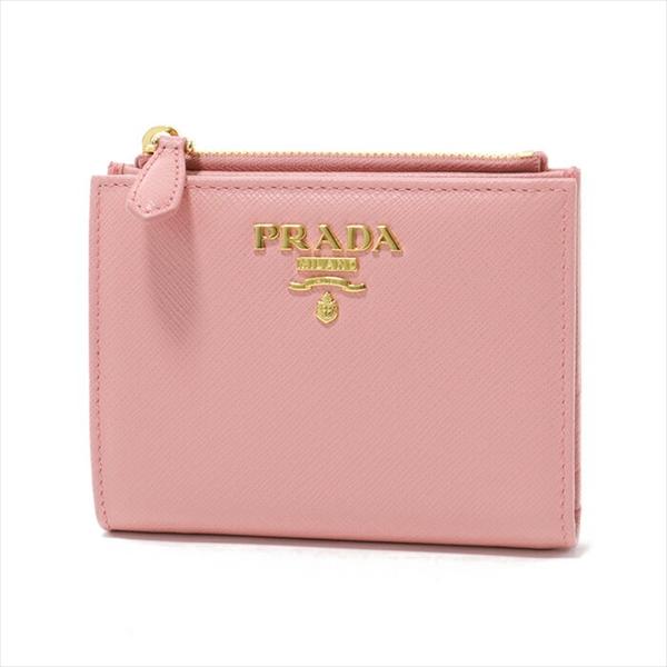 PRADA プラダ 1ML023 QWA F0442 二つ折り ミニ財布 PETALO