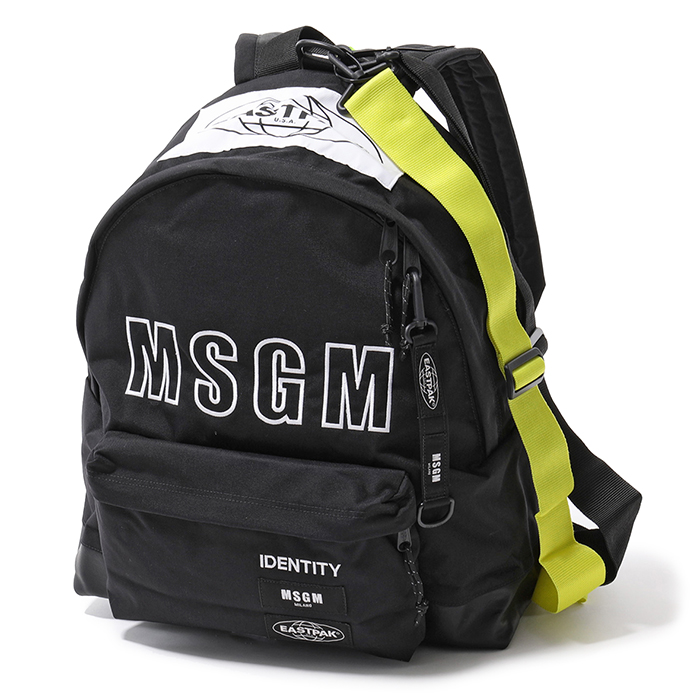 MSGM エムエスジーエム EASTPAK イーストパック コラボ リュック 2540MZ200 010/ブラック ユニセックス