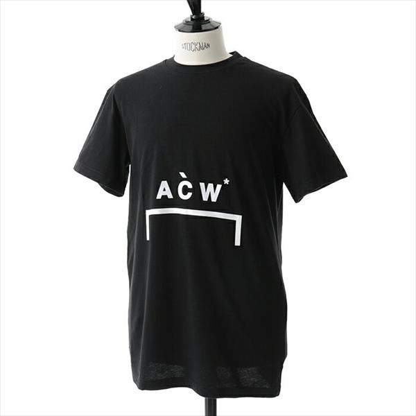 A-Cold-Wall* アコールドウォール CW8FMH05BP TE187 半袖Tシャツ ロゴT 999/BLACK