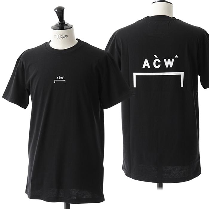 A-Cold-Wall* アコールドウォール CW8FMH05DP TE187 半袖Tシャツ 999/BLACK